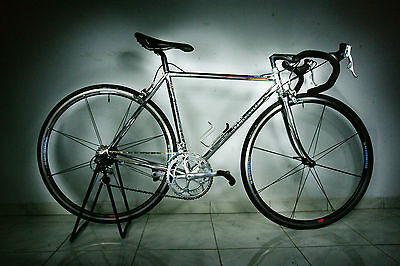 colnago master gen 1 XXS 50cm fully chromed full shimano dura ace parts WOW!