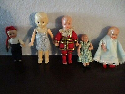Miniature dolls