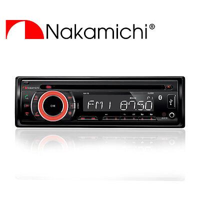 NEW NAKAMICHI AM/FM/CD/MP3/WMA Receiver with Bluetooth NA105