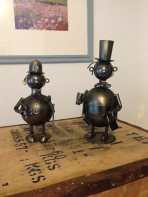 nuts and bolts figureines