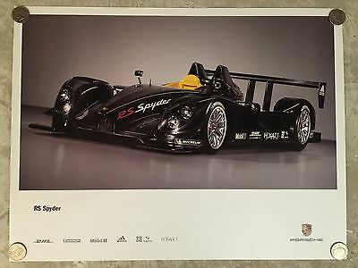 2006 Porsche RS Spyder Poster Showroom Advertising Sales Poster RARE!! Awesome