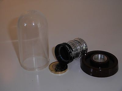Taylor & Hobson lens f/1.9 Pat:587090 - Rexer cover/dome - OMAG 25mm hood - 3in1