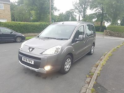61 PEUGEOT PARTNER TEPEE 1.6Hdi WHEELCHAIR ACCESS VEHICLE BY ALLIED WAV
