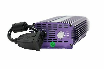 Hydroplanet Used Digital Dimmable Ballast 600W Grow Light 120/240 HPS MH *