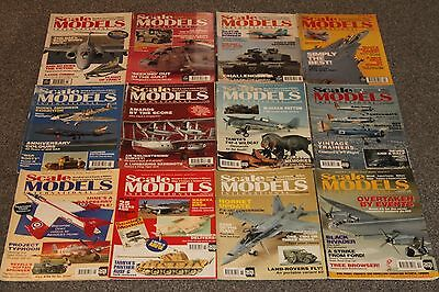 12 x SCALE MODELS MAGS 1994 - AIRCRAFT & SCALE MODEL MAGAZINES SALE - JOBLOT 55