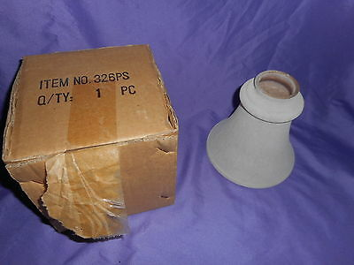 "New Beige Frosted Textured Marbled Glass Ceiling Fan Light Shade Globe 2"" Fitter"