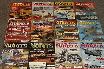 12 x SCALE MODELS MAGS 1995 - AIRCRAFT & SCALE MODEL MAGAZINES SALE - JOBLOT 56