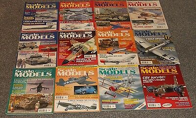 12 x SCALE MODELS MAGS 1996 - AIRCRAFT & SCALE MODEL MAGAZINES SALE - JOBLOT 57