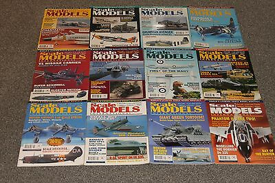 12 x SCALE MODELS MAGS 1997 - AIRCRAFT & SCALE MODEL MAGAZINES SALE - JOBLOT 58