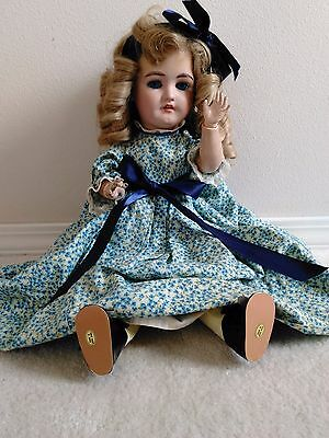 Vintage German doll Simon & Halbig Bisque Head Doll - 20""
