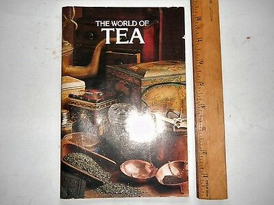 The World of Tea Lipton Vintage Retro Tea Recipes Booklet Advertising