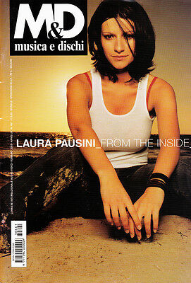 LAURA PAUSINI ● Rivista M&D MUSICA E DISCHI 2003 ● FROM THE INSIDE ● BRANDUARDI