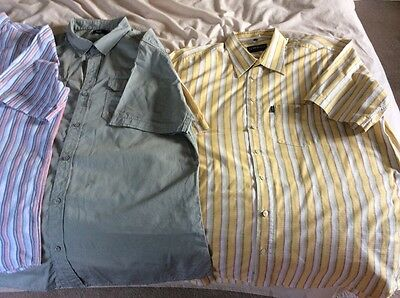 mens shirts xxl  bundle Short Sleeved In Excellent Condition