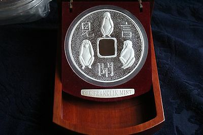 2004 Cook Islands PROOF 30 Dollars 999 Silver 1kilo coin RARE  Three Wise Monkey