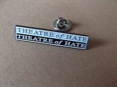 THEATRE OF HATE PUNK METAL BADGE very limited edition !