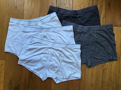 Mens Underwear M&S Trunks X 5 Large
