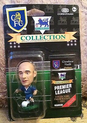 "Corinthian Premier 1995 Football Figure ""gianluca Vialli""  New & Sealed"