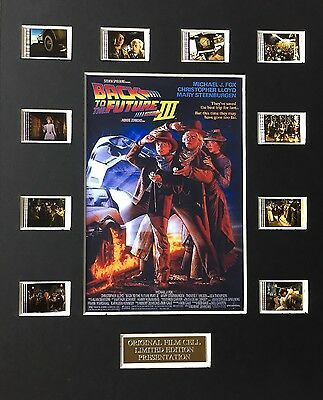 Back to the Future 3 35mm Film Cell Display