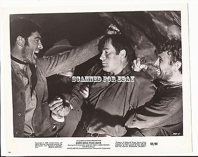 MORE DEAD THAN ALIVE - Clint Walker/Mike Henry Press Photo/Movie Still #2