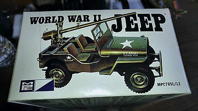 Military jeep model was just started thats it