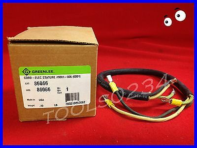 NEW Greenlee 86066 Electric Stature Cord  USA MADE Free Shipping