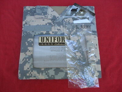 NEW Uniformed Collection Photo Frame 4 x 6 US Army Camouflage