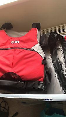 Gill Buoyancy Aid X 3. Xxl And Small And Child
