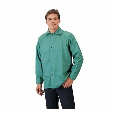 Tillman 6230 Flame Retardant FR Green Cotton Safety Large Welding Jacket