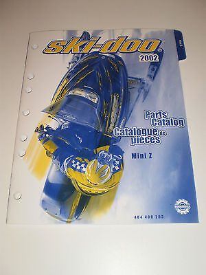 Skidoo  Parts Catalog  Manual 2002 Mini Z