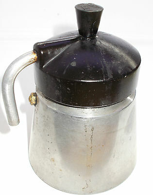 Vintage coffee maker espresso on gas-cooker Hungary 1950's RARE MODEL