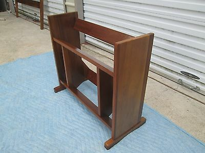 DANISH Mid-Century Modern Bookcase / Book Shelf  Real Nice !!!  FREE SHIP !!!