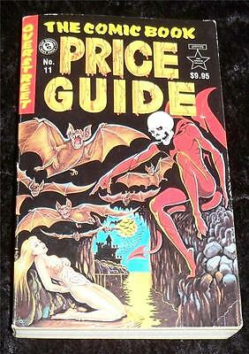 Overstreet Comic Book Price Guide No 11 Fine+ Soft Cover
