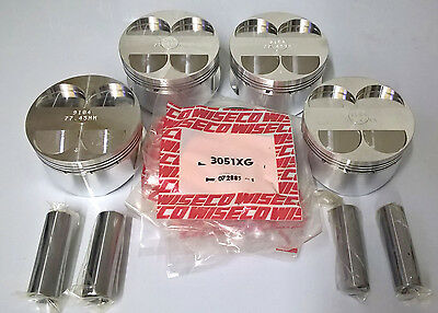 Wiseco Forged Pistons for ZX-11, ZZ-R1100 with Stroked Crankshaft