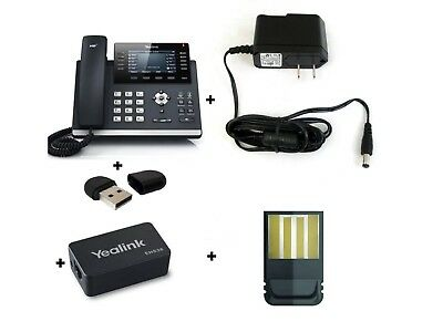 MAKE ME AN OFFER Yealink YEA-SIP-T46S IP Desk Phone, Optima HD voice, 16accts