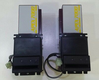 Lot Of 2 New Pyramid Apex 7400 120V Bill Acceptor Validator Mei Mars Replacement