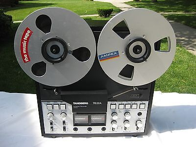 Tandberg TD20A  stereo 1/4 track  reel to reel tape deck   JUST SERVICED!