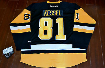 Reebok Premier NHL Jersey Pittsburgh Penguins Phil Kessel Black sz M ... 2c875f54d