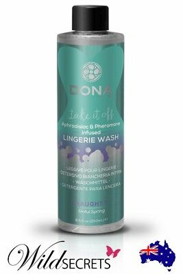 NEW DONA 240ml Sinful Spring Lingerie Wash - Naughty Aroma, Wild Secrets