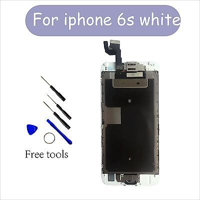Replacement Touch Screen Digitizer Camera Home Button for White iPhone 6s 4.7''