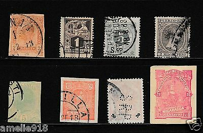 Old Spain and Colonies Stamps Mix Lot. VFU