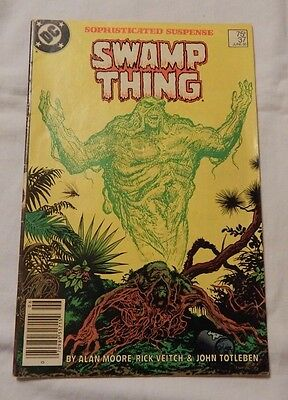 Swamp Thing # 37 John Constantine Hellblazer 1st Appearance FREE SHIPPING