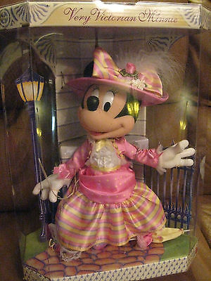 Beautiful Victorian Minnie Mouse Doll at the Park