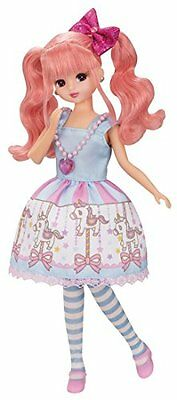 Takara Tomy Licca Doll Toy LD-13 Merry-go-round Pink Hair Licca Chan New