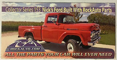 RockAuto Fridge Tool Chest Magnet Collector Series #153 Red Ford F100