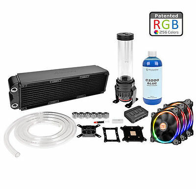 Thermaltake Pacific RL360 Water Cooling LCS LGA2011/1156  Kit (CL-W113-CA12SW-A)