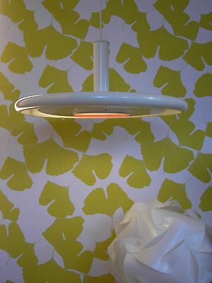 1970's  OPTIMA lamp HANS DUE fog morup DANISH MODERN space age PANTON era Ø50