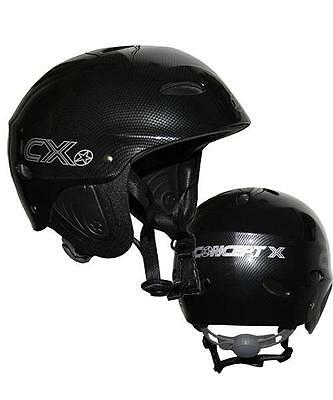 CONCEPT X CASQUE Kite Surf Wakeboard Kayak Aspect Carbone