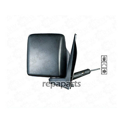 Exterior Mirror For Vauxhall Combo (C) Right Built 2001-2010 Black 1046615
