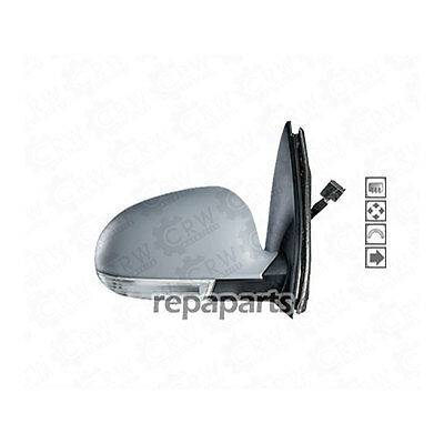 EXTERIOR MIRROR FOR VW Golf 5 Right Built 2003-2008 Black by