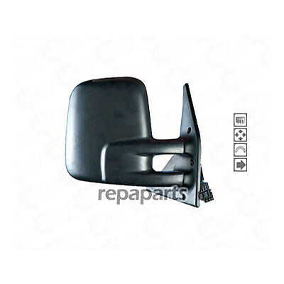 EXTERIOR MIRROR FOR VW T4 Right Built 1990-2003 Black 1046657